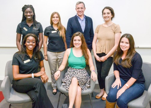 Annenberg Scholars with Bob Iger