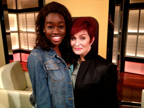 With The Talk's Sharon Osbourne
