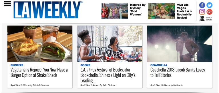 LA Weekly LA Times 2018 Bookfest Joy Ofodu